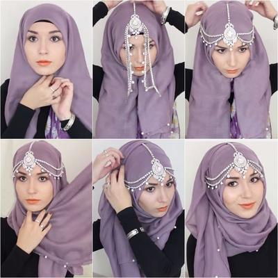 Bikin Hijab Kamu Lebih Pop Up Dengan Aksesoris Ini Yuk