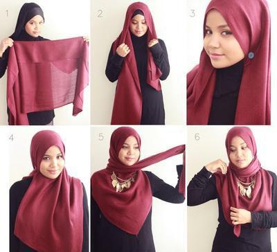 Ini 4 Gaya Hijab Syar I Simpel Dan Kekinian Untuk Acara Wisuda Yang Tetap Menutup Dada